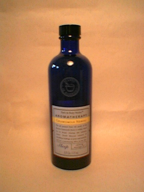 Chamomile Neroli Bath Body Works Massage Oil    discontinued glass bottle Camomile sleep