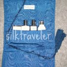 Crabtree Evelyn Traveller Nantucket Briar Soap Gel Lotion Powder  weekend travel jewelry roll case