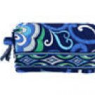 Small Cosmetic Vera Bradley Mediterranean Blue   make-up bag, toiletry case NWT