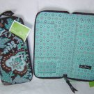 Vera Bradley Travel Organizer zip around wallet Java Blue  NWT Retired - clutch  passport case