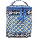 Vera Bradley Cool Keeper insulated lunch bottle tote in Riviera Blue travel bag   NWT Retired