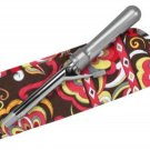 Vera Bradley Curling Flat Iron Cover  Puccini  travel  NWT Retired