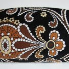 Vera Bradley Hard Eyeglass Case Caffe Latte    NWOT Retired sunglass*