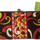 Vera Bradley Clutch Wallet Puccini  NWT retired kisslock baguette purse