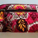 Vera Bradley Zip-Around Wallet Carnaby   wristlet  clutch organizer passport NWT Retired