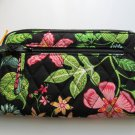 Vera Bradley Zip Around Wallet  organizer clutch wristlet Botanica  NWT Retired