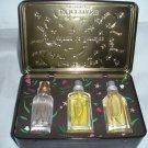 L occitane Gift tin 3 EDT Green Tea, Verbena, Rose 20ml Trois Eau de Toilette Ltd Ed FS