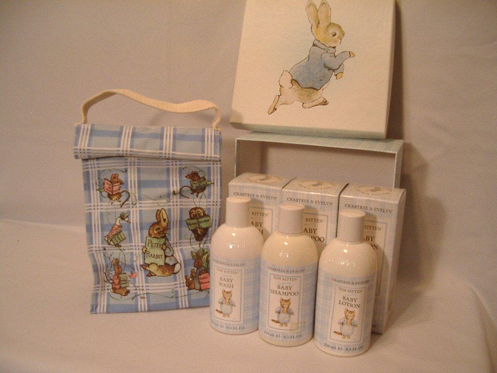 Crabtree Amp Evelyn Tom Kitten Gift Box Baby Wash Shampoo