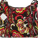 Vera Bradley Lisa B shoulder bag Puccini  handbag tablet e-reader hobo tote - NWT Retired