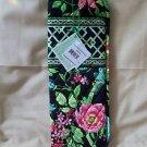 Vera Bradley Curling Flat Iron brush Cover  Botanica • travel NWT Retired Rare