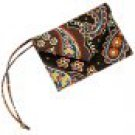 Vera Bradley Luggage Tag Kensington ID Case business card IDcredit card holder NWT  Retired
