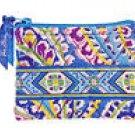 Vera Bradley Coin Purse Capri Blue   ID credit card case wallet   NWT Retired