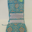 Vera Bradley Hanging Organizer Totally Turq turquoise  •   travel case school NWT Retired