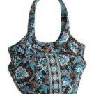 Vera Bradley Side by Side tote Java Blue • NWT Retired handbag shoulder bag
