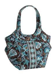 Vera Bradley Side by Side tote Java Blue � NWT Retired handbag shoulder bag