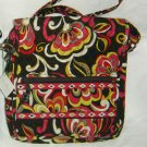Vera Bradley Mailbag Puccini - crossbody messenger tablet tote bag  netbook kindle  NWT Retired