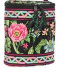 Vera Bradley Cool Keeper Botanica NWT Retired insulated travel cosmetic lunch bottle bag •
