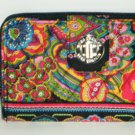 Vera Bradley Turn lock Wallet Symphony in Hue NWT Retired turnlock ultimate wallet