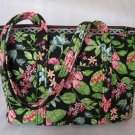 Vera Bradley Diaper Bag Botanica XL tote overnight  Retired pre-owned
