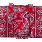 Vera Bradley Handbag 100 Frankly Scarlet  NWT Retired HTF purse shoulder bag