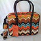 Missoni for Target Travel Tote  chevron luggage carryon satchel NWT free ship