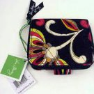 Vera Bradley Mini Zip Wallet  Puccini  NWT Retired •  coin ID zip-around case