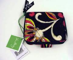 Vera Bradley Mini Zip Wallet  Puccini  NWT Retired �  coin ID zip-around case