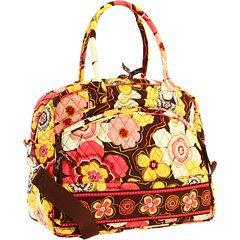 Vera Bradley Metropolitan laptop travel bag Buttercup  � carry-on weekender satchel trolley sleeve