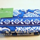 Vera Bradley One for the Money Blue Lagoon wallet kisslock coin purse card case NWT