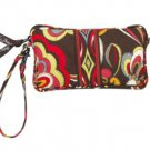 Vera Bradley Wristlet Puccini  tech case small phone PDA mini tablet clutch purse NWT Retired