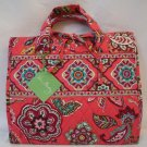 Vera Bradley Hanging Organizer Call Me Coral  •  travel cosmetic case Retired NWT