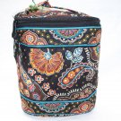 Vera Bradley Cool Keeper Kensington NWT Retired insulated bottle bag travel cosmetic tote FS •