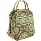 Vera Bradley Let's Do Lunch insulated travel cosmetic bottle tote Sittin' In A Tree • NWOT Retired