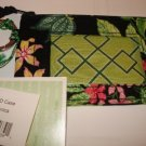 Vera Bradley Zip ID Case Botanica  coin purse credit card  NWT retired