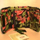 Vera Bradley Pocket Wallet Botanica  NWT Retired  coin ID foldover card case
