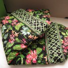 Vera Bradley Large Duffel travel bag Botanica  Retired overnight weekend carryon satchel