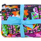 Vera Bradley Cosmetic Trio travel makeup case set  Va Va Bloom NWT