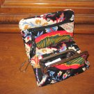 Vera Bradley One for the Money wallet coin ID kisslock PDA purse Versailles  NWT Retired