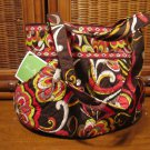 Vera Bradley Morgan handbag purse tote shoulder bag • Puccini Retired