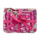Vera Bradley Cosmetic Trio Paisley Meets Plaid  travel cosmetic bags  tech cases  NWT