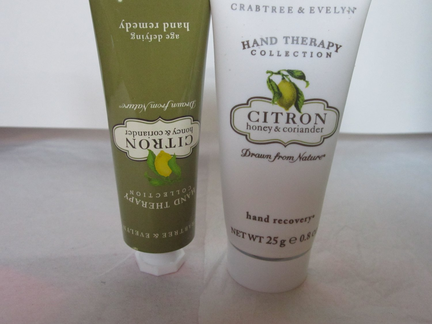 Crabtree Evelyn Hand Recovery + Hand Remedy Citron, Honey  Coriander 0.8 oz. 25g TRAVEL Size