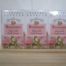Crabtree Evelyn Soap with Cold Cream Rosewater Set/3 Travel • Personal •  Guest Size giftpack
