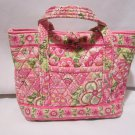 Vera Bradley Little Toggle Tote in Petal Pink Retired • purse handbag