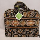 Vera Bradley Hanging Travel Organizer Caffe Latte NWT Retired •  makeup cosmetic case