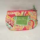 Vera Bradley Clip Zip ID case Capri Melon  NWT Retired HTF coin purse key ID card case