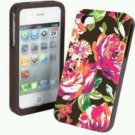Vera Bradley Hardshell Case for iPhone 4/4S in English Rose - new in box smartphone case