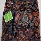 Vera Bradley Backsack backpack drawstring tote Kensington NWT Retired knitting laundry bag