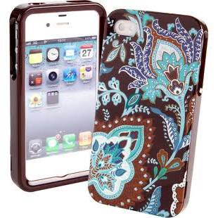 Vera Bradley Hardshell Case for iPhone 4 4S Java Blue nib smartphone VHTF