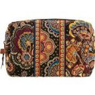 Vera Bradley Medium Cosmetic Kensington travel tech case bag Retired NWT