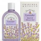Crabtree Evelyn classic Lavender Bath & Shower Gel   8.5 oz - 250 ml NIB discontinued